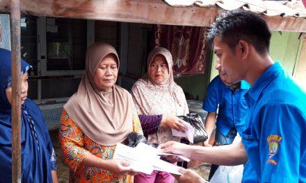 Karang Taruna Laskar Muda Tadjimalela Serahkan Bantuan untuk Yatim Piatu dan Duafa