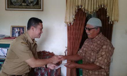 Akhirnya, Pemkab Tasik Berikan Santunan untuk Korban Tsunami Banten