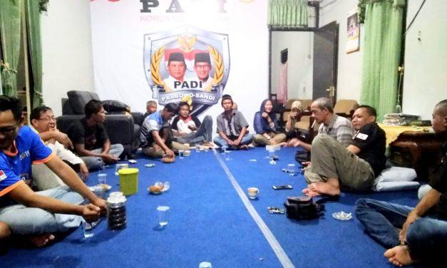 Relawan PADI Korda Kota Banjar Gelar Nobar Debat Capres, Terbuka untuk Umum