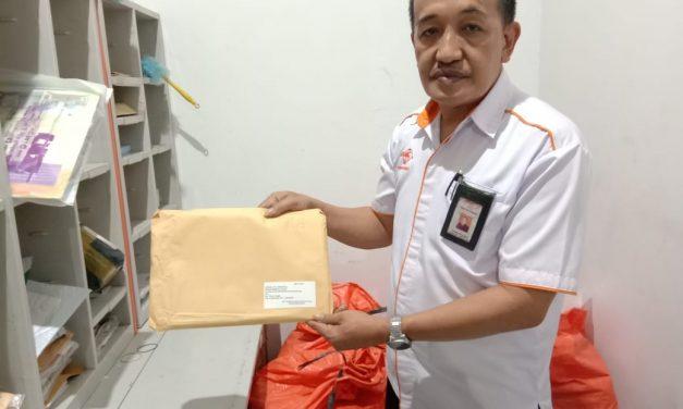 Diduga Berisi Tabloid Indonesia Barokah, Bawaslu Kota Tasik Minta Kantor Pos Tahan 842 Surat