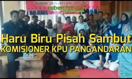 Musik Cianjuran Iringi Pisah Sambut Komisioner KPU Pangandaran