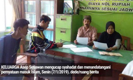 Alhamdulillah, Keluarga Ahmadiyah di Pangandaran Tobat dan Kembali Ucap Syahadat
