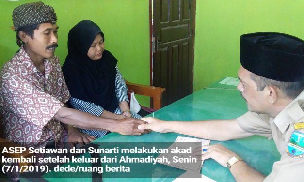Cerita Tobat Keluarga Ahmadiyah di Pangandaran, Ucap Syahadat hingga Ulangi Akad Nikah