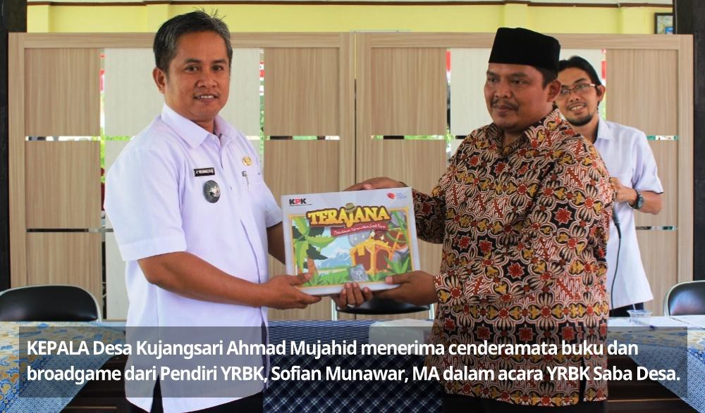Galakkan Budaya Literasi, YRBK Kota Banjar Saba Desa