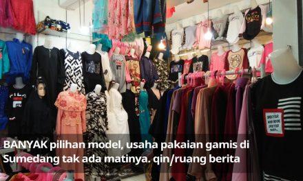 Bisnis Pakaian di Sumedang: Gamis Tak Ada Matinya
