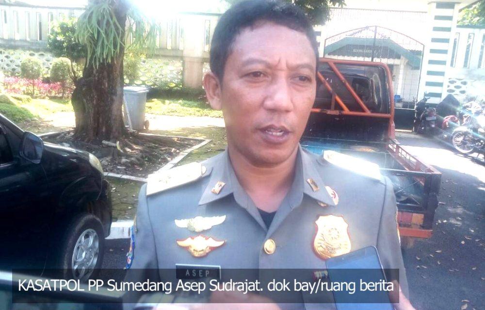 Soal Penertiban APK, Satpol PP Justru Tunggu Rekomendasi Bawaslu Sumedang