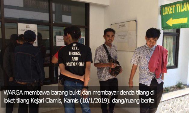 Polres Ciamis Disarankan Sita STNK, Tiap Bulan 100 Barang Bukti Tilang Numpuk di Kejari