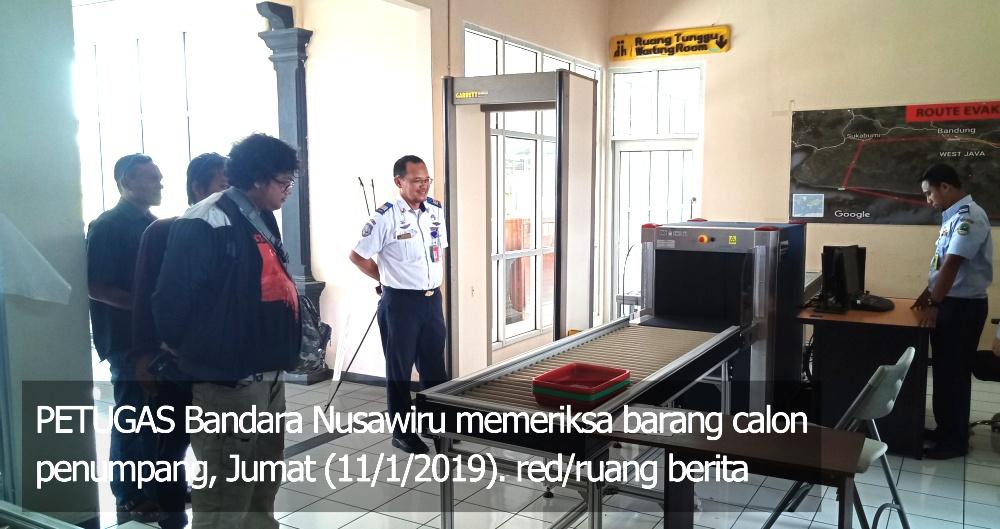 Pengawasan di Bandara Nusawiru Pangandaran Diperketat, Kenapa?