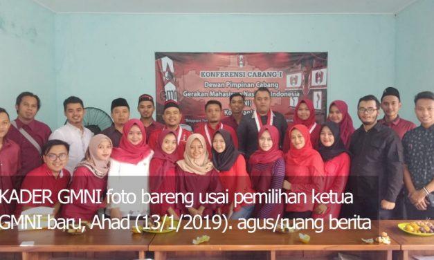 Sah! Solehan Pimpin GMNI Kota Banjar Periode 2019-2021