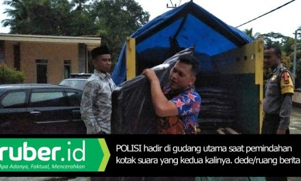 KPU Pangandaran Pindahkan Kotak Suara Pemilu Tanpa Koordinasi Polisi