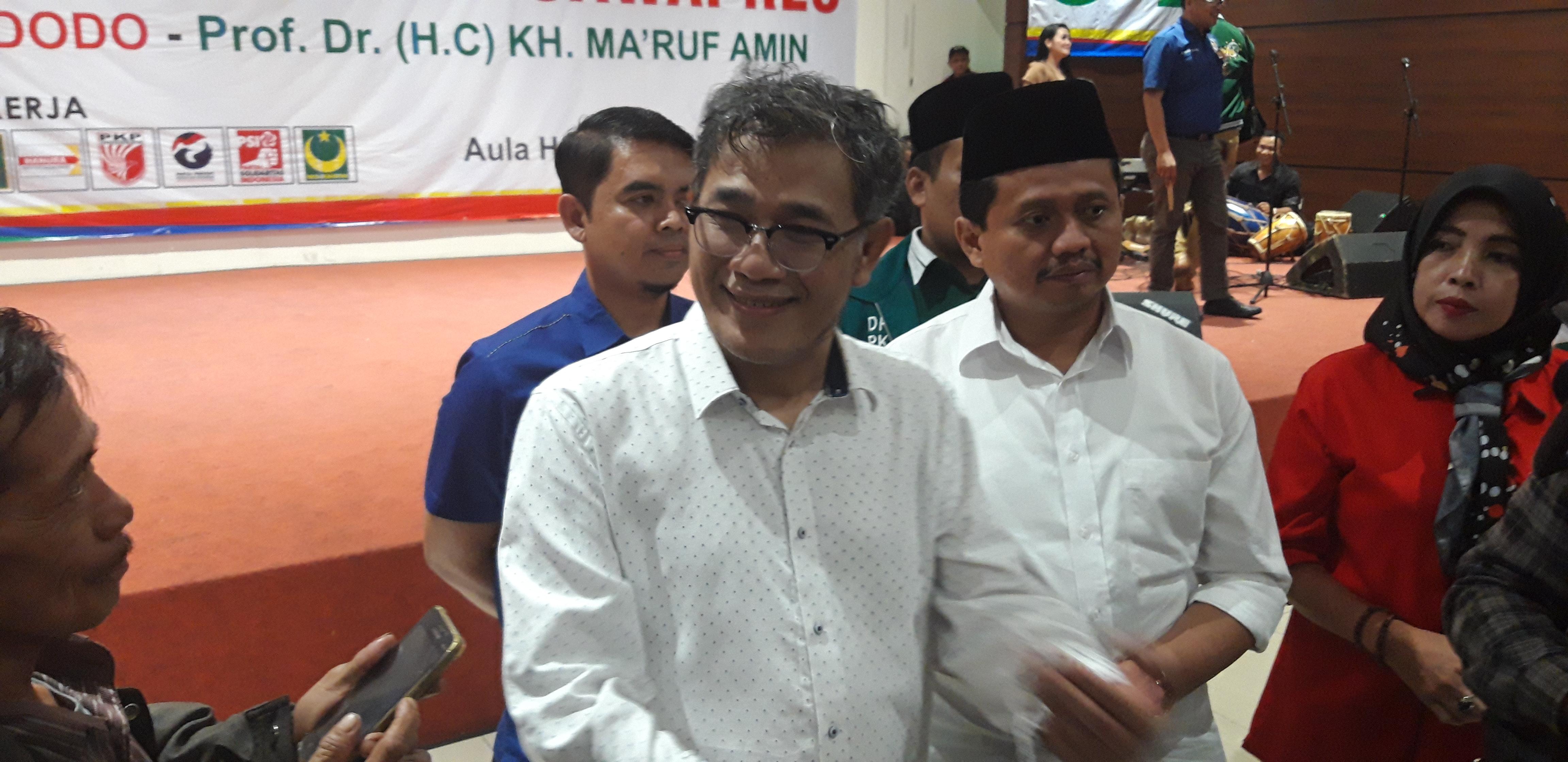 JUBIR Tim Kampanye Daerah Jokowi-Amin. sobar/ruang berita