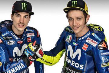 Launching Motor Terbarunya Hari Ini, Yamaha MotoGP Hadirkan Rossi-Vinales