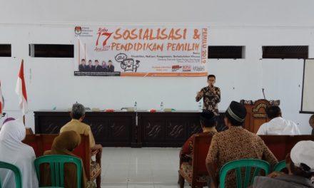 Empat Basis Calon Pemilih di Pangandaran Diajari Cara Memilih