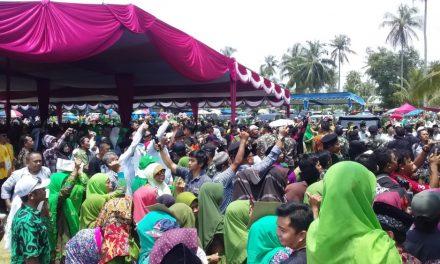 Belasan Ribu Warga Hadiri Deklarasi Kisan Pangandaran, Muslimat NU Mendominasi