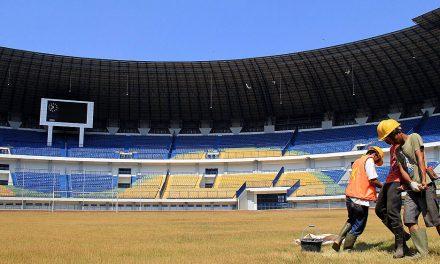 Ada Keretakan dan Penurunan Struktur Stadion GBLA, Ini Penjelasan Pemkot Bandung