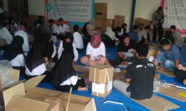 KPU Banjar Pastikan Pelipatan Surat Suara Pilpres Selesai Besok