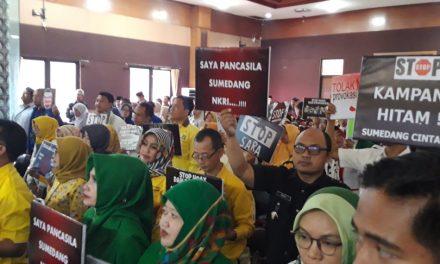 Sejumlah Petinggi Partai Keluhkan Kinerja KPU Sumedang