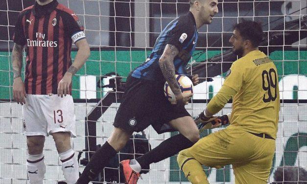 Inter Sukses Menangi Derby Panas versus Milan 2-3