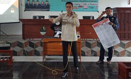 Cegah Kampanye Hitam, Relasi KPU Pangandaran Gencar Sosialisasi