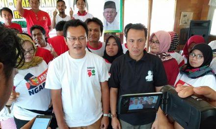 Hasil Survei Dekati Target Minimal, Timsus 1901 Sumedang Optimis Sambut Kemenangan Jokowi-Amin