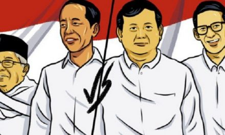 Di Basis Kuning-Merah di Kota Banjar, Prabowo-Sandi Masih Kalah Tipis