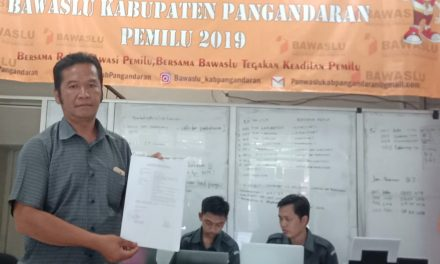 Partai Perindo Pangandaran Laporkan KPU ke Bawaslu