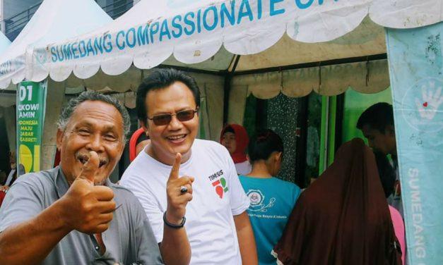 Jika Parpol Pendukung Solid, Jokowi-Ma'ruf Harusnya Menang Mutlak di Sumedang