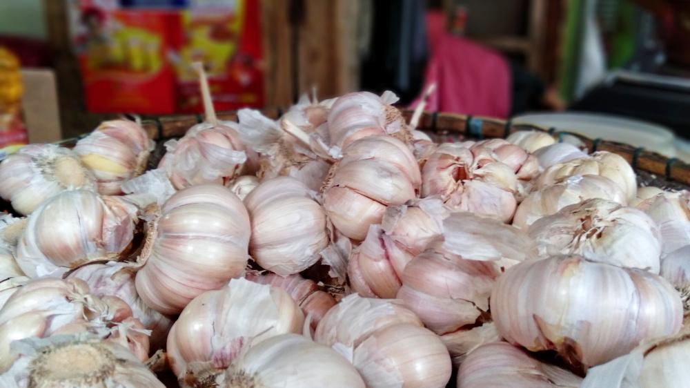Harga Bawang Putih di Pangandaran Tembus Rp58.000/Kg
