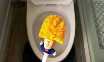 Lagi Tren Nih, Sikat Toilet Berwujud Donald Trump
