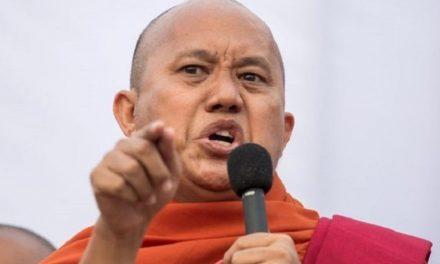 """Biksu Radikal Berjuluk """"Buddhist bin Laden"""" Diburu Polisi Myanmar"""