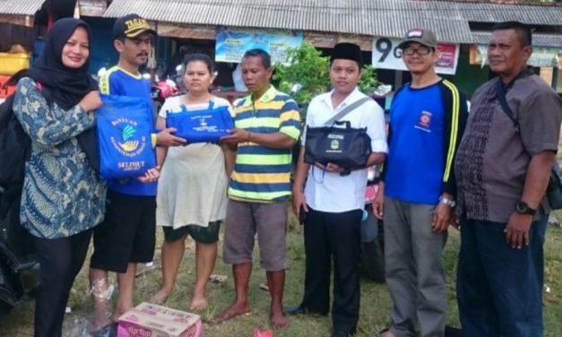 Dinsos PMD Pangandaran Bantu Korban Kebakaran di Cijulang