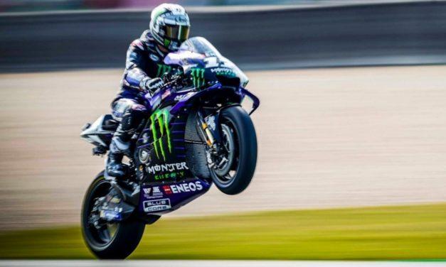 Rossi Crash Lagi, Vinales Taklukkan Marquez di MotoGP Belanda