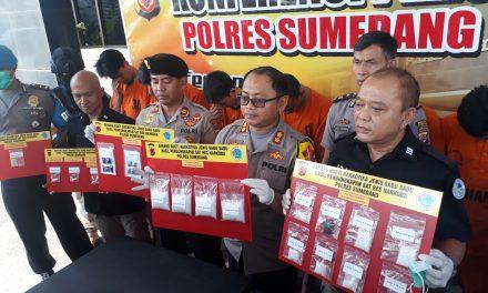 Dua Pengedar Sabu Jaringan Lapas Bancey Kota Bandung, Dibekuk Satnarkoba Polres Sumedang