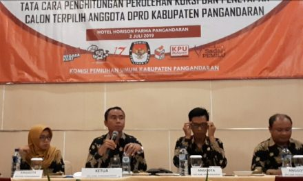 BRPK Belum Terbit, Penetapan Caleg Terpilih Pemilu 2019 di Pangandaran Ditunda