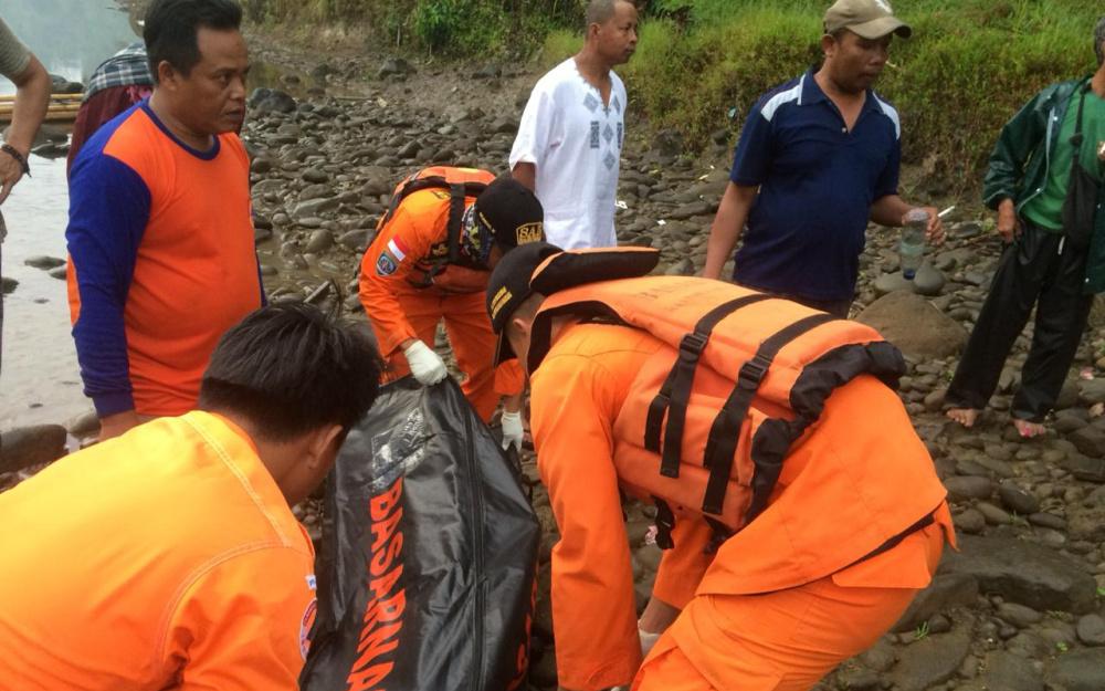 Korban Tenggelam di Sungai Ciwulan Tasikmalaya Ditemukan Tak Bernyawa