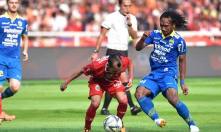 Persija vs Persib: Gol Geworkyan di Injury Time Selamatkan Maung Bandung dari Kekalahan