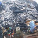 Gara-gara Puntung Rokok, Rumah Penggergajian di Sumedang Habis Dilalap si Jago Merah
