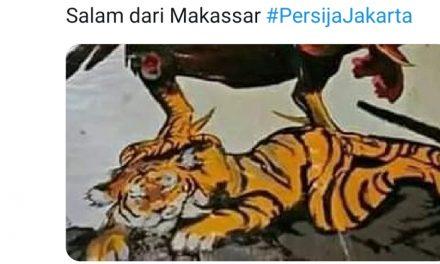 Tak Datang ke Stadion, Persija Diolok-olok Netizen, Padahal Polda Sulsel Jamin Keamanan Laga