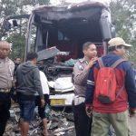 Sopir Diduga Ugal-ugalan, 2 Bus Alami Kecelakaan di Tasikmalaya