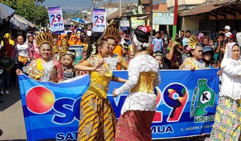 Festival 29 SCTV di Tanjungsari Sumedang Disambut Antusias Warga