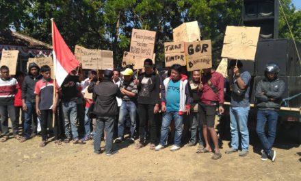 Dugaan Korupsi di Desa Karangmulya Pangandaran, Ratusan Massa Geruduk Kantor Kecamatan Padaherang