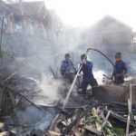 Masak Nasi di Tungku, 4 Rumah di Sumedang Selatan Ludes Terbakar