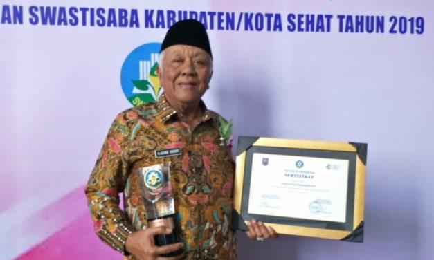 2019, Pangandaran Raih penghargaan Swasti Saba Padapa