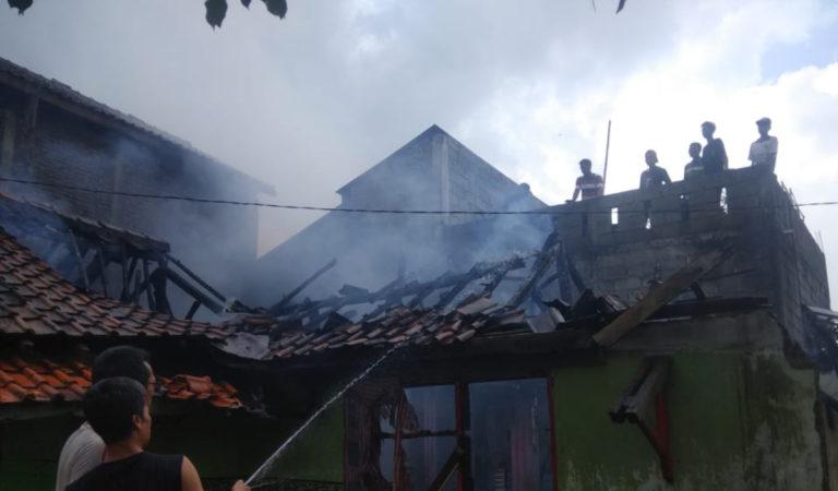 Rumah di Tanjungsari Sumedang Ludes Terbakar, 1 Unit Motor Ikut Hangus