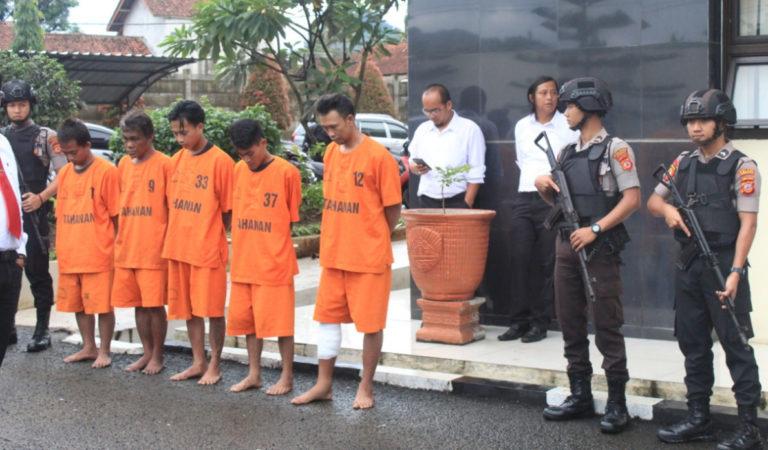 Curi Onderdil Pabrik di Pamulihan Sumedang, Kancil dan Mumuh Diringkus Polisi