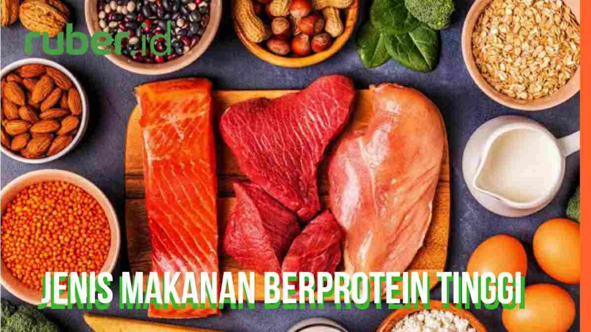 Daftar Makanan Mengandung Protein Tinggi Ruber Id