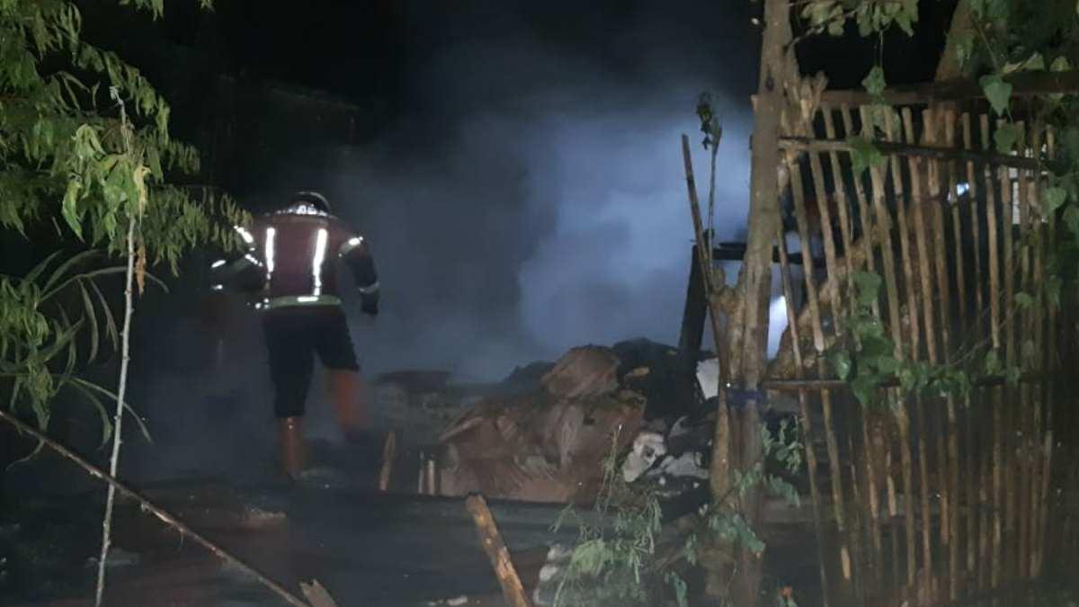 Kebakaran di Tanjungsari Sumedang
