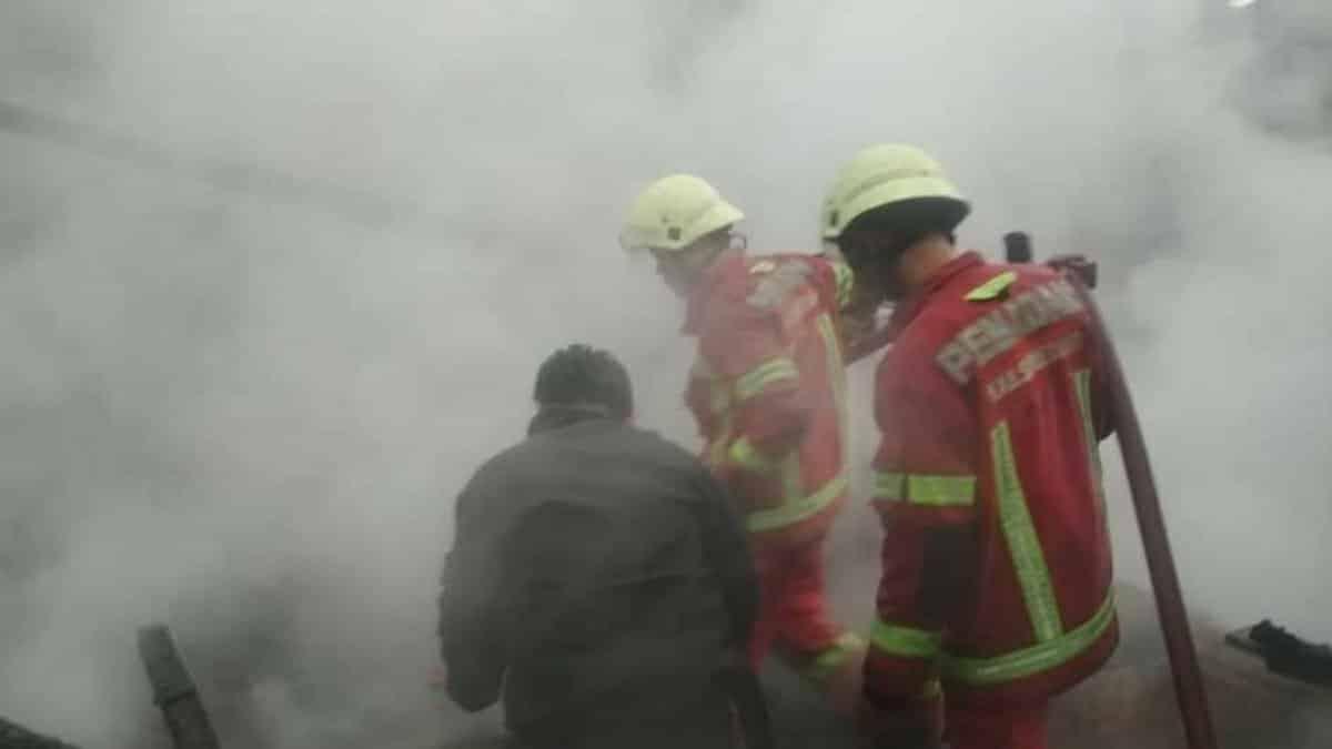 Kebakaran di Ujungjaya Sumedang