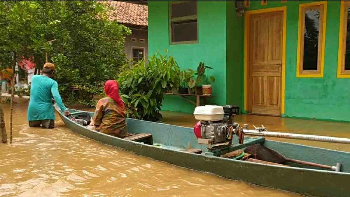 banjir di Pangandaran