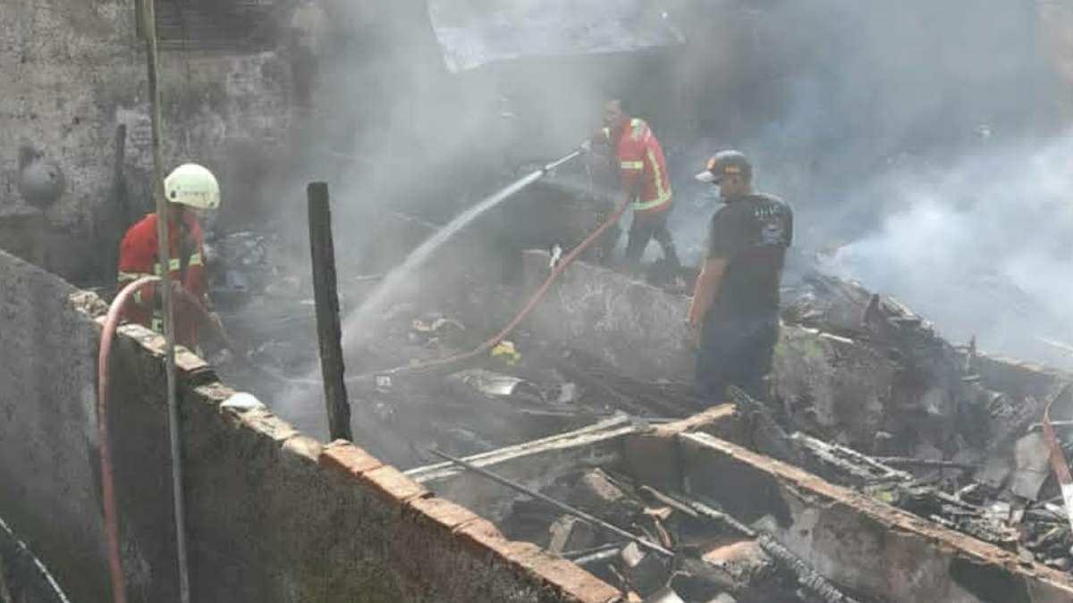 Kebakaran di Sumedang Selatan